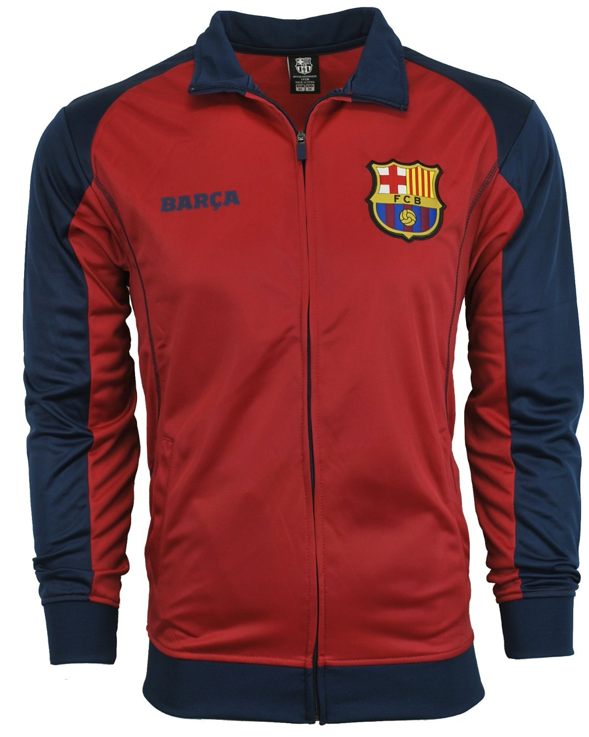 Amazon.com : Fc Barcelona Jacket Track Soccer Adult Sizes Soccer Football Official Merchandise