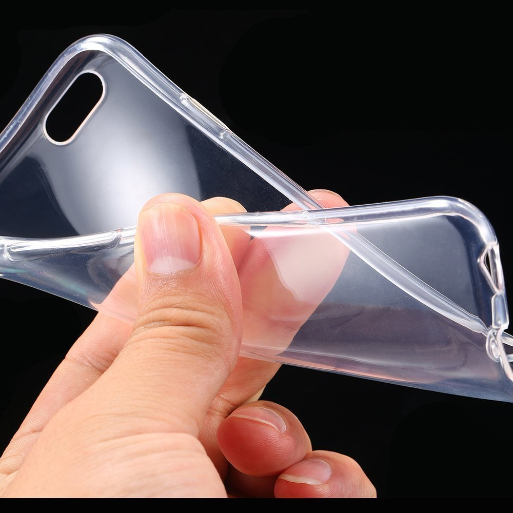 "Ultra Thin Slim Crystal Clear Soft TPU Cover Case Skin for 4.7"" iPhone 6 Clear"