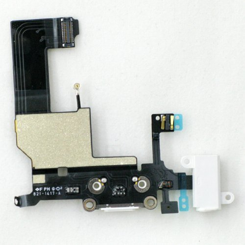 OEM Apple iPhone 5 Charging Port Replacement Part for Repairs & Fixes-Color Black