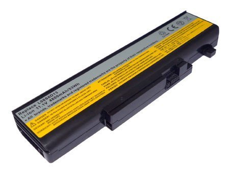New Replacement Laptop Battery for LENOVO IdeaPad Y450, Y450A, Y450G, IdeaPad Y550, Y550A,Y550P, Compatible Part Numbers: 55Y2054, L08L6D13