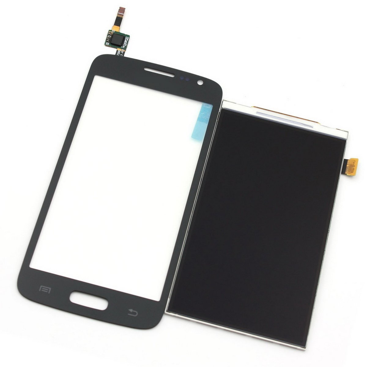 Cell Phones Parts From USA New Black Full Assembly Cobom LCD Display Touch Screen Digitizer Complete for Samsung Galaxy Avant SM-G386 G386TR Metro PCS G386T T-mobile G386T1 Core G386F G386W (Black)