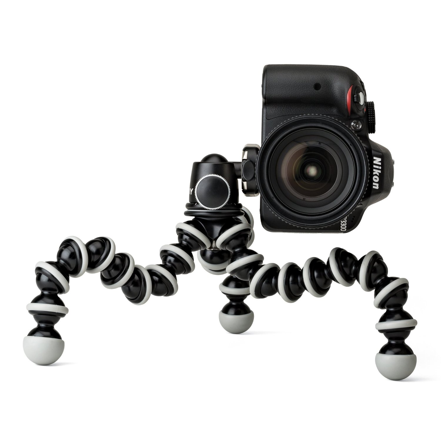 Amazon.com : Joby GorillaPod SLR Zoom Tripod with Ball Head Bundle for DSLR and Mirrorless Cameras : Camera And Video Accessory Bundles