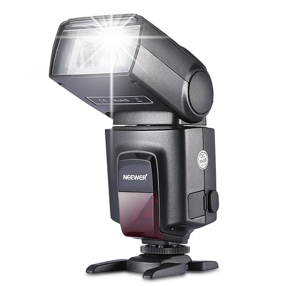 Amazon.com : Neewer TT560 Flash Speedlite for SLR Digital, SLR Film, SLR Cameras and Digital Cameras with Single-Contact Hot Shoe : On Camera Shoe Mount Flashes