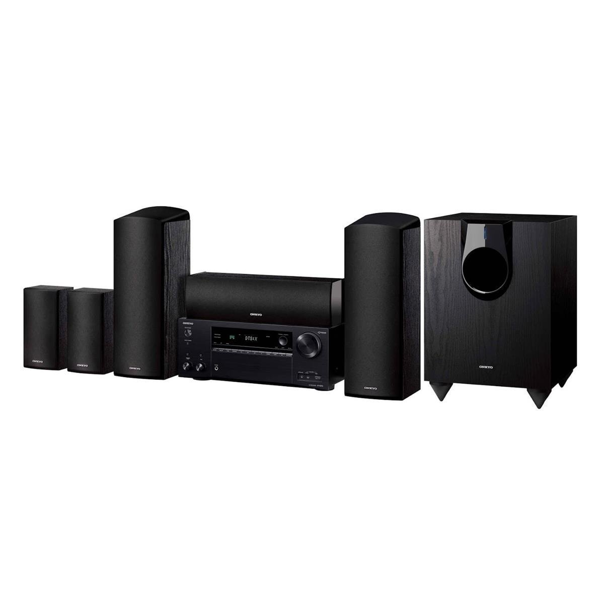 Onkyo All-in-one surround sound Home Audio/Video Product, Black (HT-S7800)