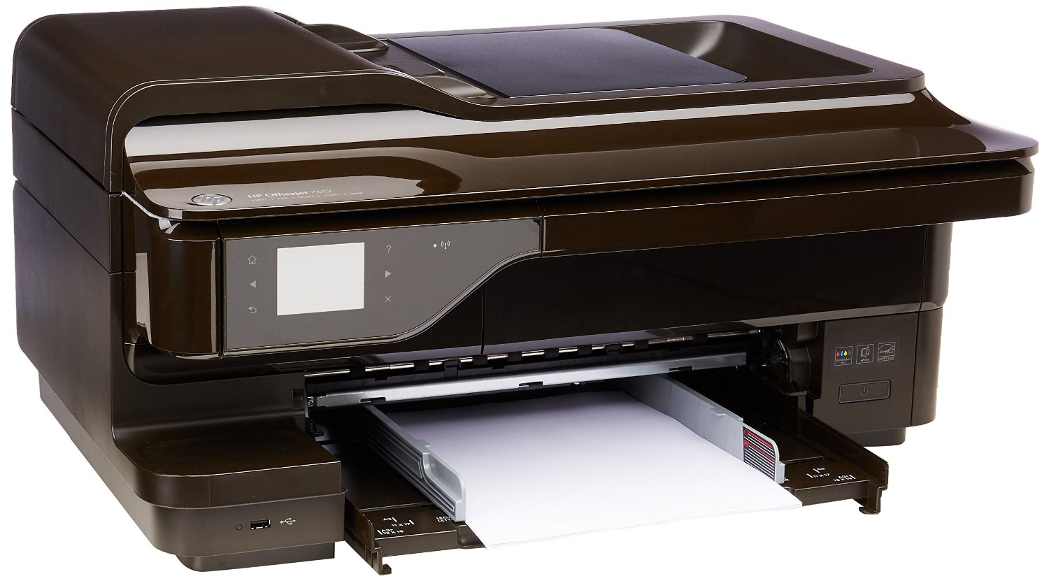 HP OfficeJet 7612 Wide Format All-in-One Photo Printer with Wireless & Mobile Printing (G1X85A)