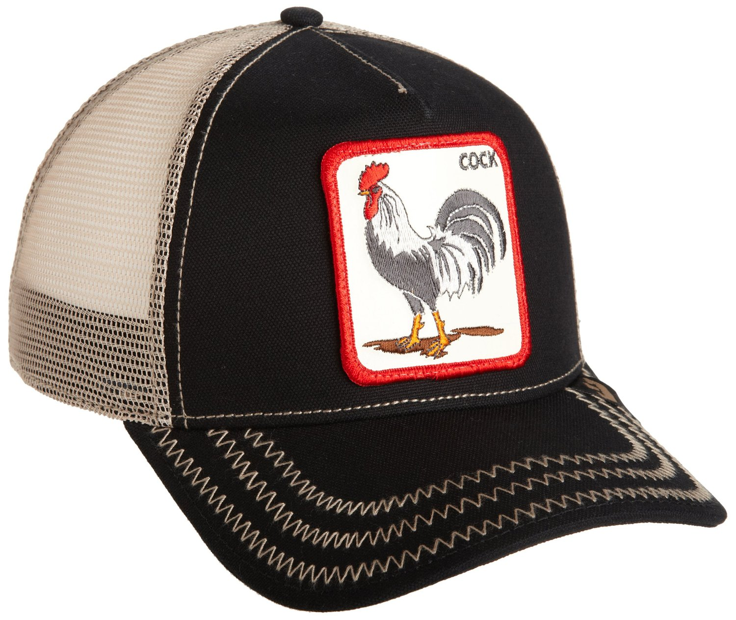 Goorin Bros. Men's Rooster Baseball, Black, One Size at Amazon Men's Clothing store
