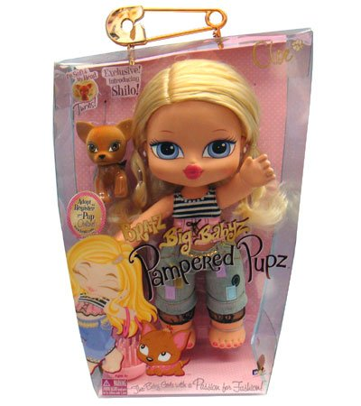 Bratz Big Babyz Pampered Pupz Cloe Doll
