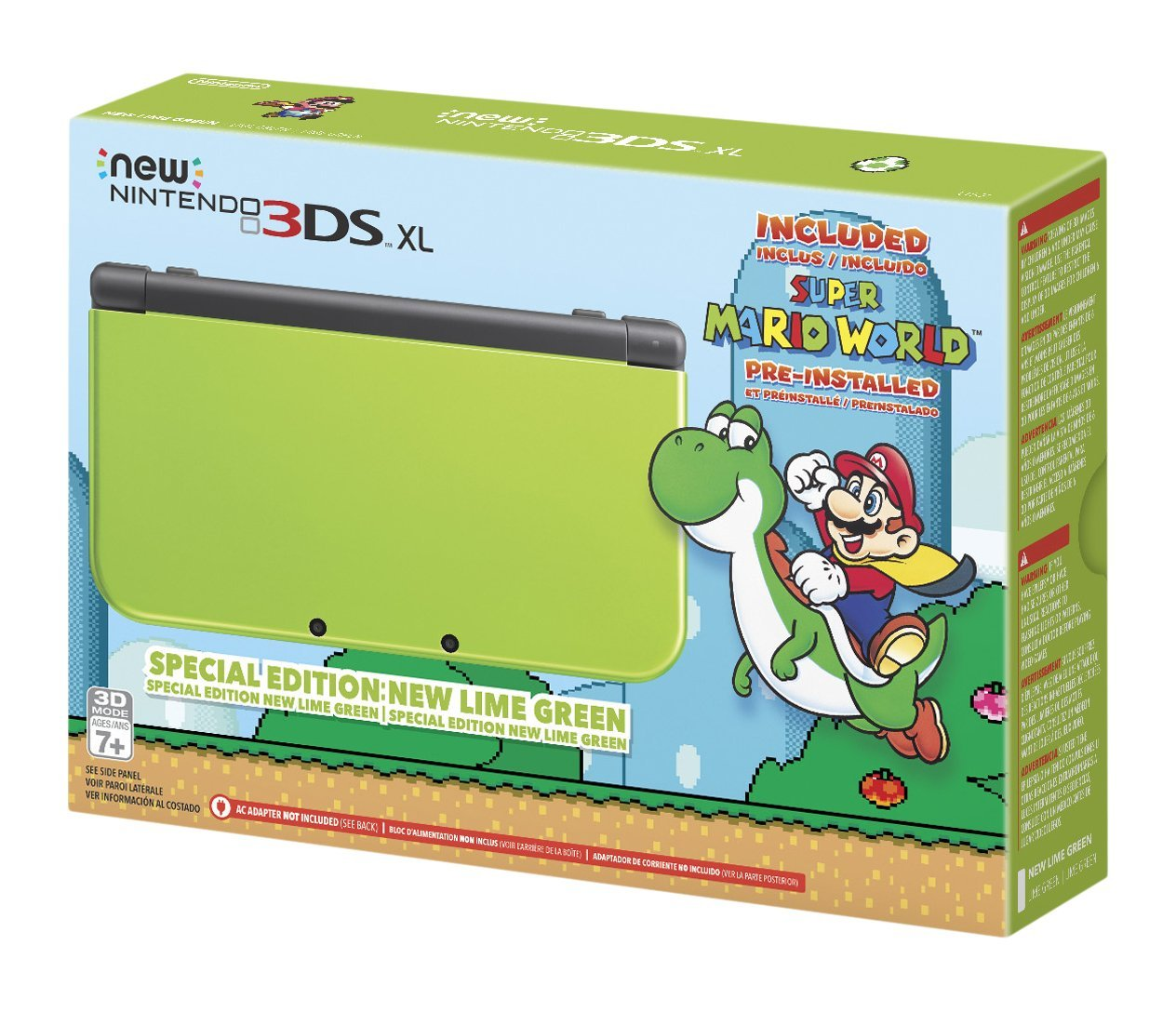 Nintendo New 3DS XL Special Edition: Lime Green: nintendo 3ds