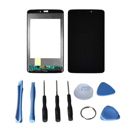 LCD display Touch Screen Digitizer Assembly for LG G Pad 8.3 V500 + Free tools (Black)