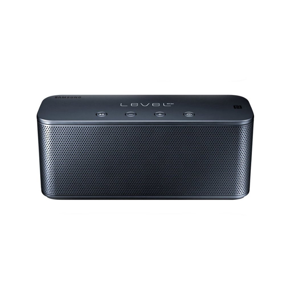 SAMSUNG EO-SG900 LEVEL Box Mini Portable Bluetooth Speaker, Works for Smart Phones, Mp3 Players and Tablets including Galaxy, iPhone, iPad, Blackberry and more (black)