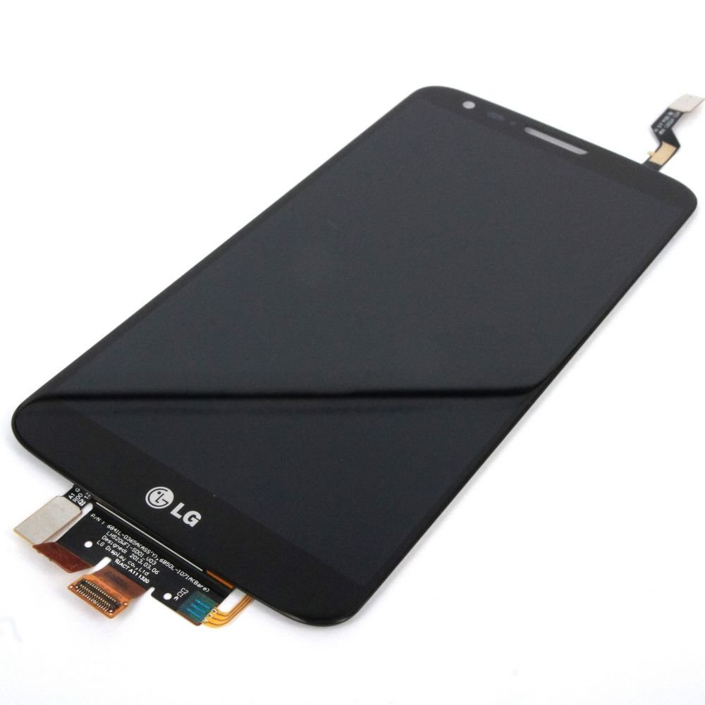 Generic Full Panel Lcd Display Touch Digitizer Glass Compatible For LG Optimus G2 D802 D805 Black Global V