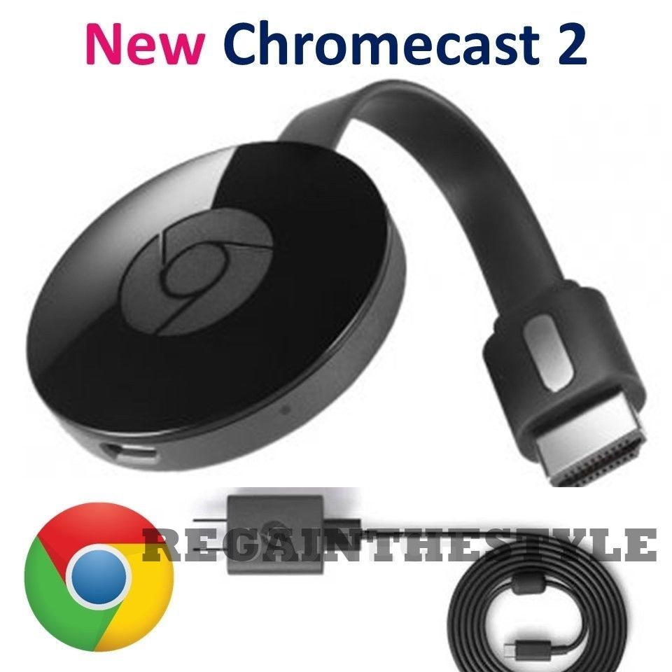 Google Chromecast 2015 Digital HDMI Media Streamer 2 ✔✔ FREE USA SHIPPING ✔✔  811571016518