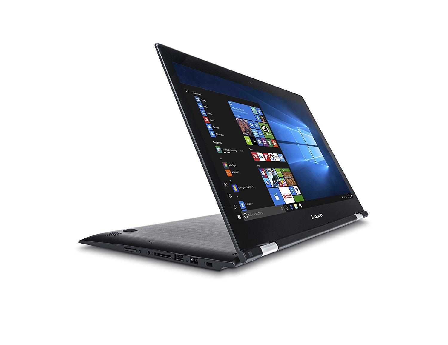 "Lenovo Edge 2 1580 15.6"" Full HD IPS 2-in-1 Touchscreen Notebook Computer, Intel Core i7-6500U 2.5GHz, 8GB RAM, 1TB HDD, Windows 10 Home"