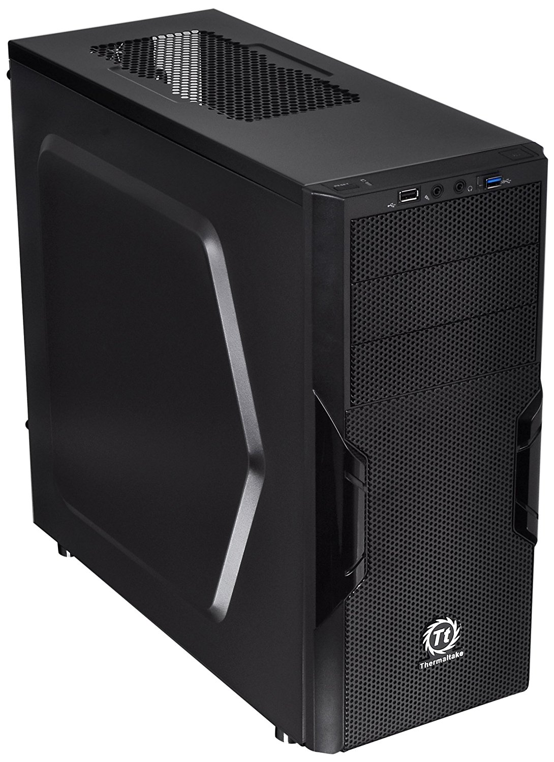 Thermaltake Versa H22 SPCC ATX Mid Tower Computer Chassis CA-1B3-00M1NN-00