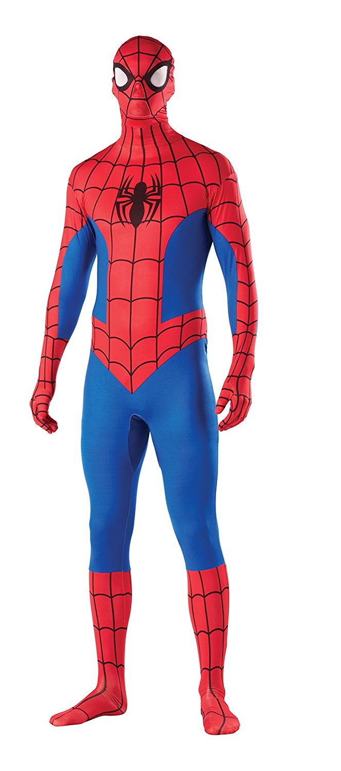 Rubie's Costume Men's Marvel Universe Spider-Man 2nd Skin Costume