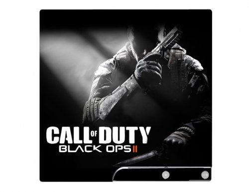Call of Duty: Black Ops II 2 PS3 Slim Limited Edition Game Skin for Sony Playstation 3 Slim Console
