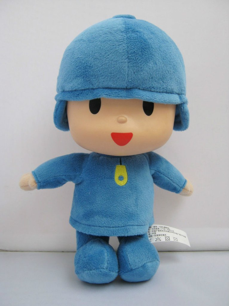 "Pocoyo Soft Plush Stuffed 10"" Figure Toy Doll"
