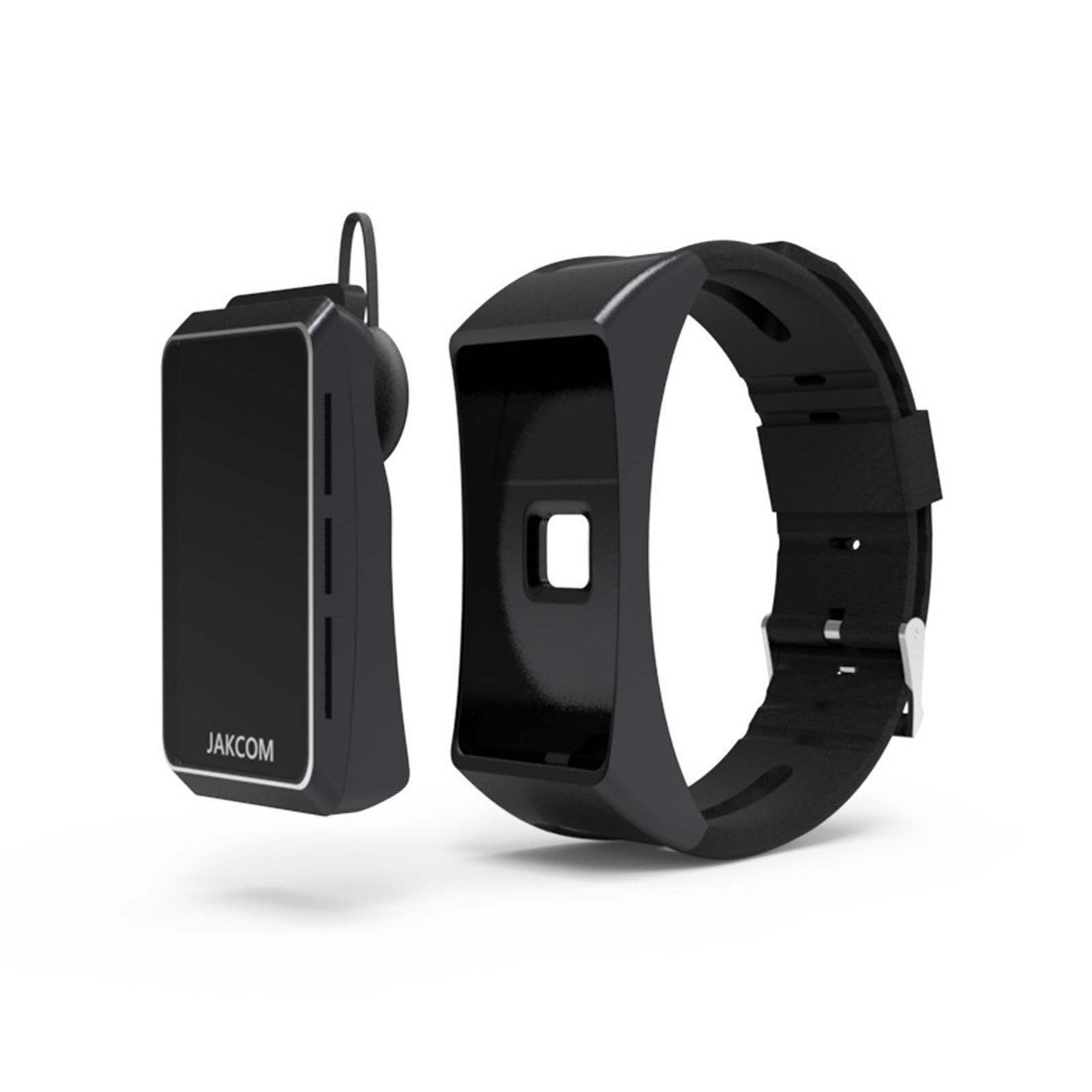 JKZ Smart Bracelet Smart Watch Heart rate monitoring Motion detection Bluetooth headset Smart watch features combined (black)
