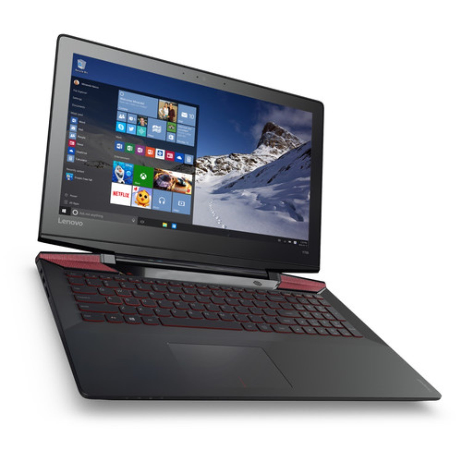 Lenovo Y700 15.6-Inch TouchScreen Full HD Gaming Laptop, 6th Gen Intel Core i7-6700HQ UP to 3.5GHz, 16GB DDR4 Memory, 128GB SSD + 1TB Hard Drive, 4GB GeForce GTX 960M Graphics, Windows 10