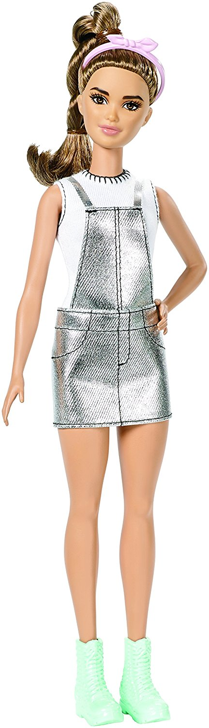 Barbie Fashionistas #62 Sweet for Silver Doll, Petite