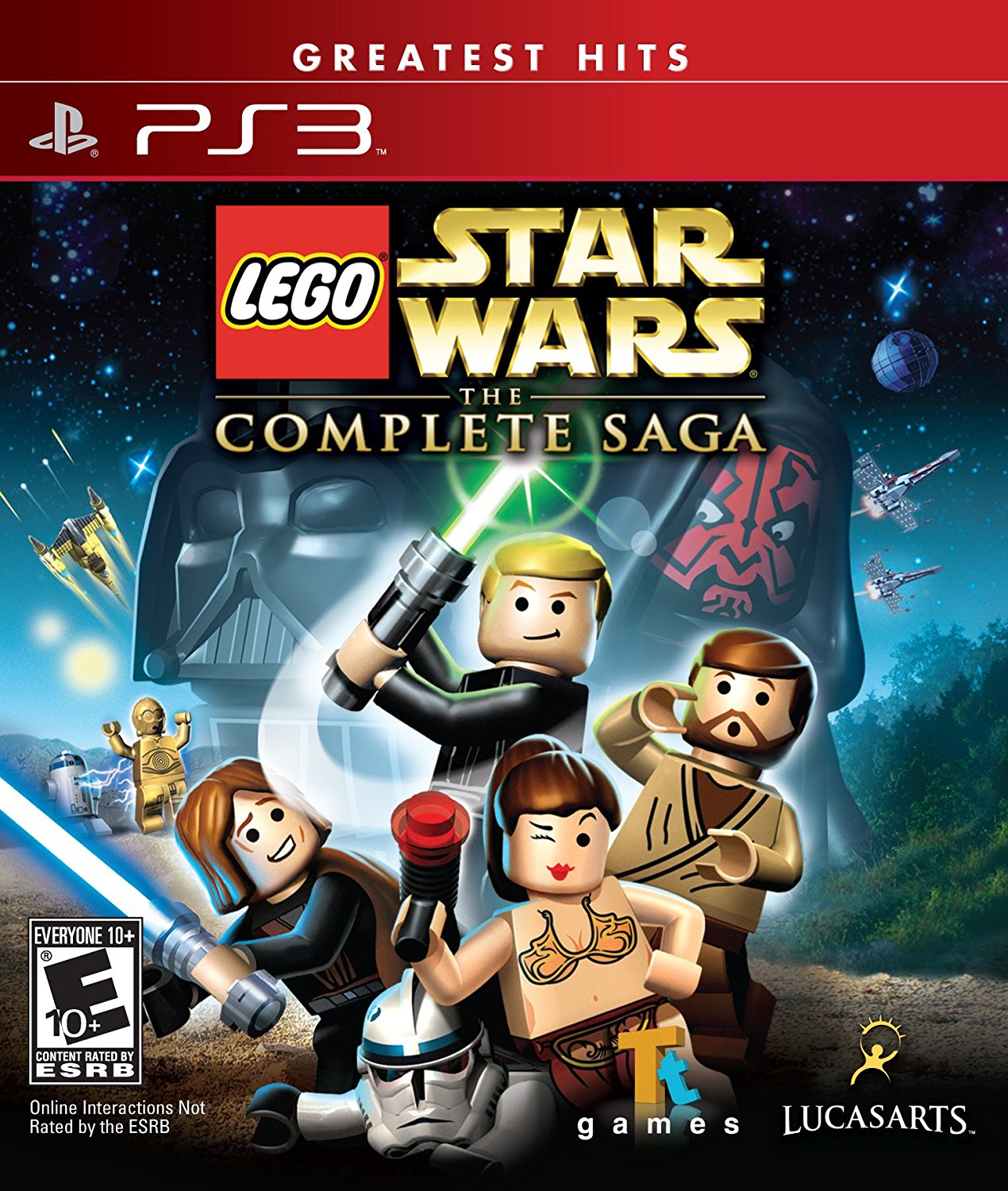 Lego Star Wars: The Complete Saga - Nintendo Wii: Artist Not Provided