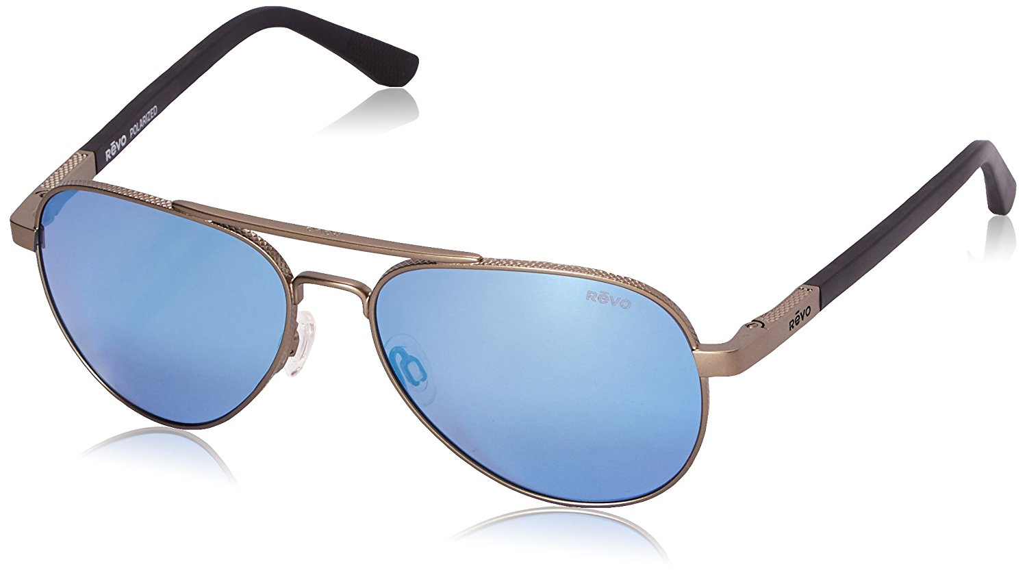 5a4e334f812 Revo Raconteur RE 1011 00 GBL Polarized Aviator Sunglasses with Crystal  Lenses
