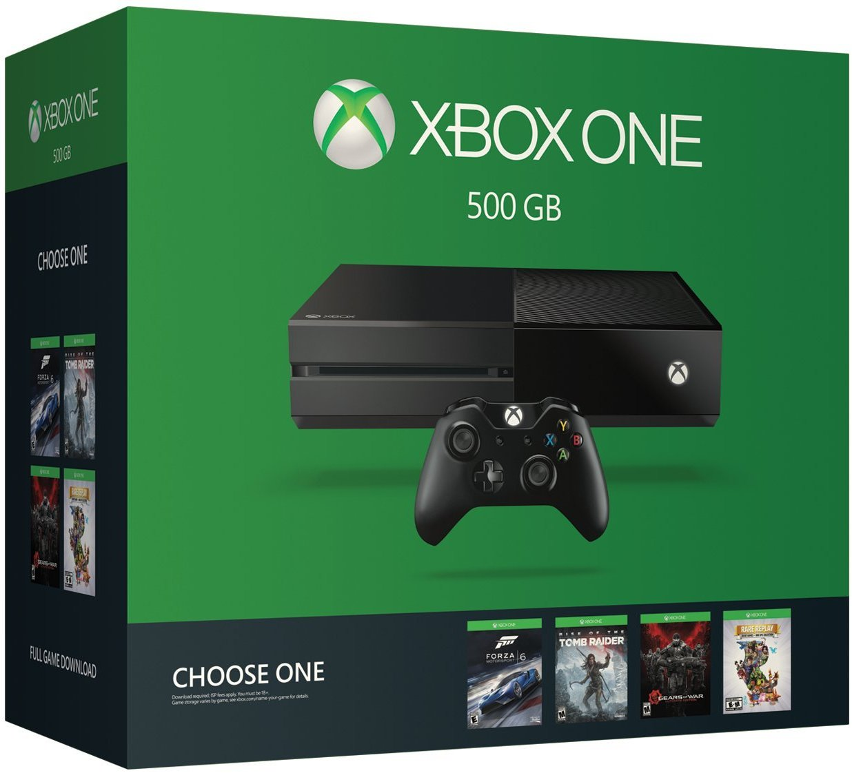 Xbox One 500GB Console - Name Your Game Bundle [Discontinued]