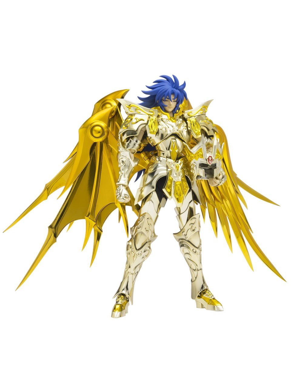 "Bandai Tamashii Nations Saint Cloth Myth Ex Gemini Saga (God Cloth) ""Saint Seiya-Soul of Gold"" Action Figure"