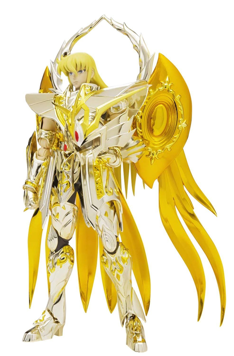"Bandai Tamashii Nations Saint Cloth Myth EX Virgo Shaka (God Cloth) ""Saint Seiya -Soul of Gold"" Action Figure"