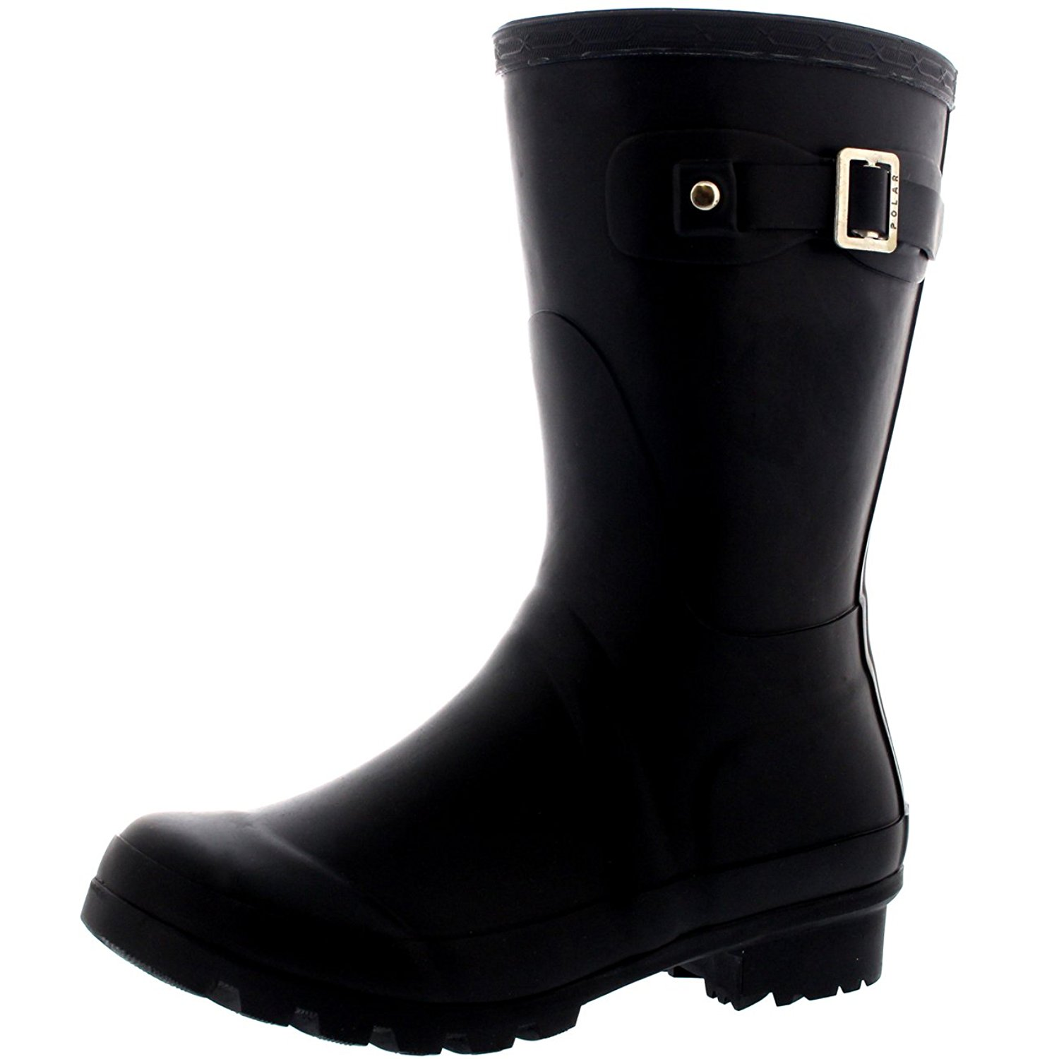 Amazon.com | Polar Products Womens Original Short Festival Waterproof Wellie Snow Wellingtons Boots | Mid-Calf