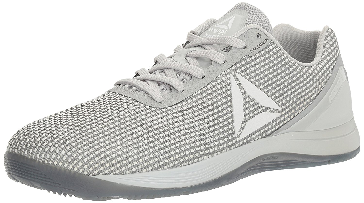 Amazon.com | Reebok Men's Crossfit Nano 7.0 Cross-Trainer Shoe, Skull Grey/White/Black, 7 M US | Fitness & Cross-Training