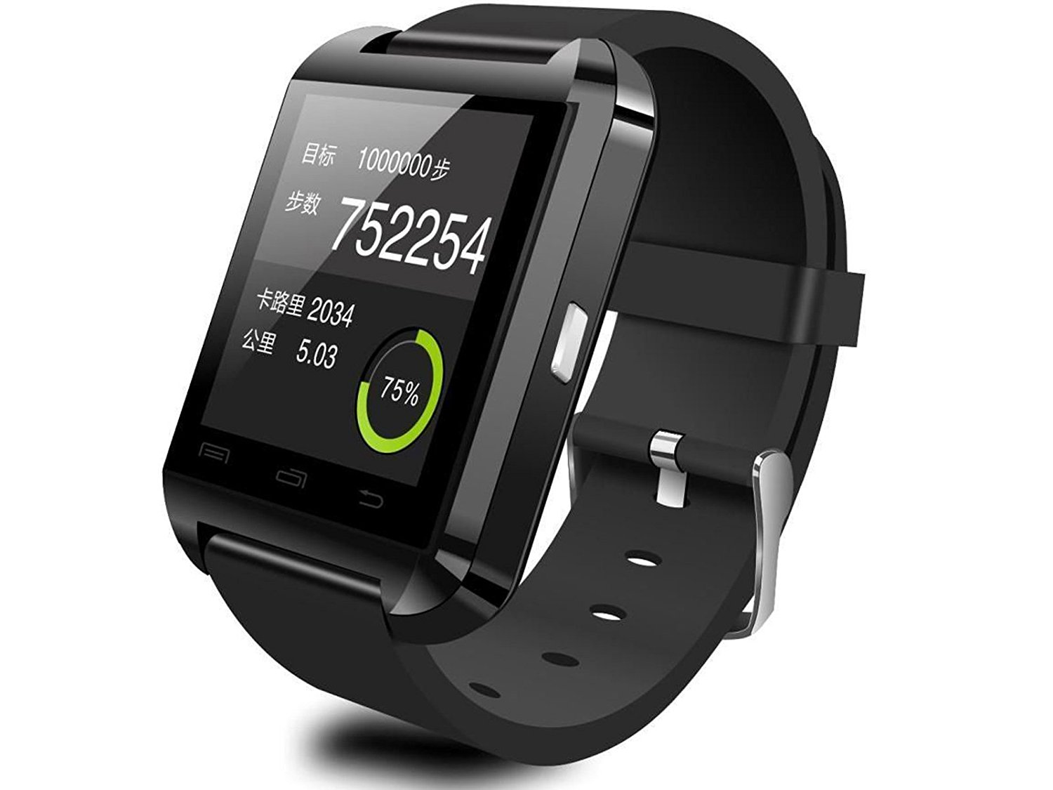 Homego Bluetooth Wrist Smart Watch Phone Mate Handsfree Call